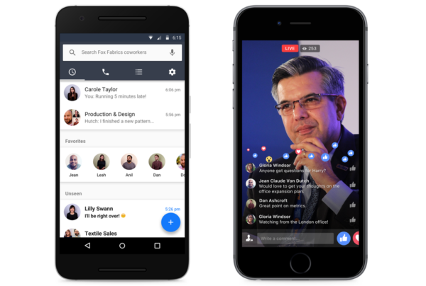 facebook workplace app